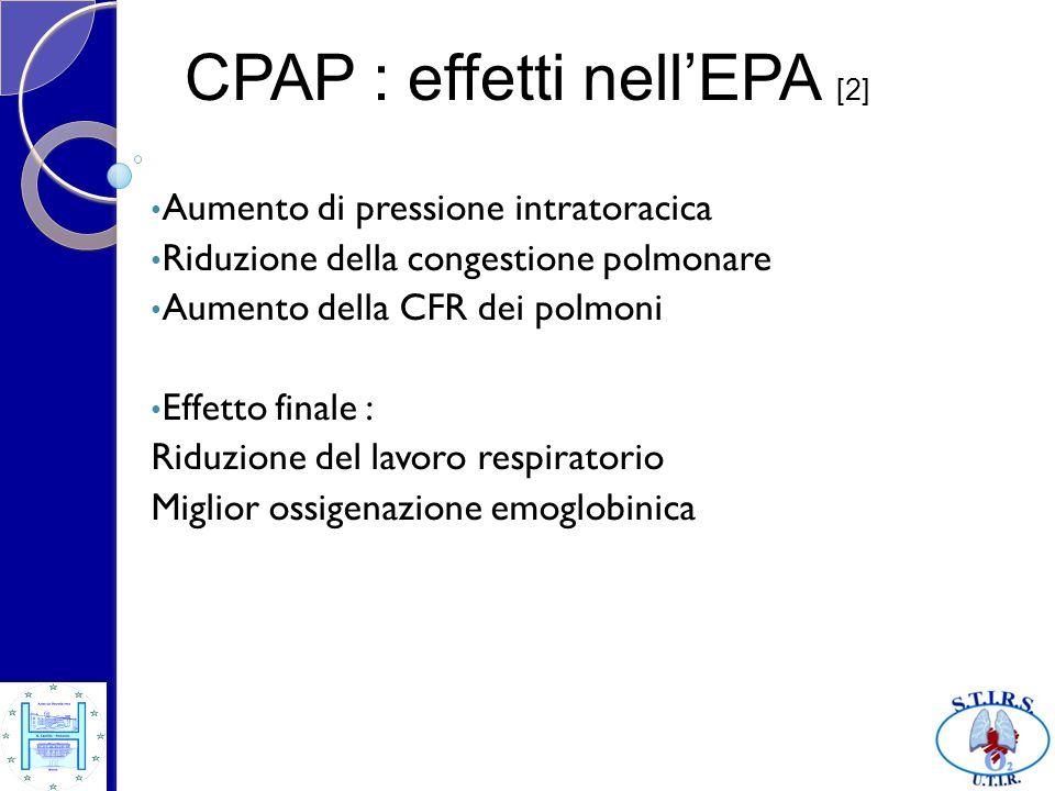 CPAP : effetti nell'EPA [2]